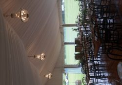 Chandliers with Timber Tables